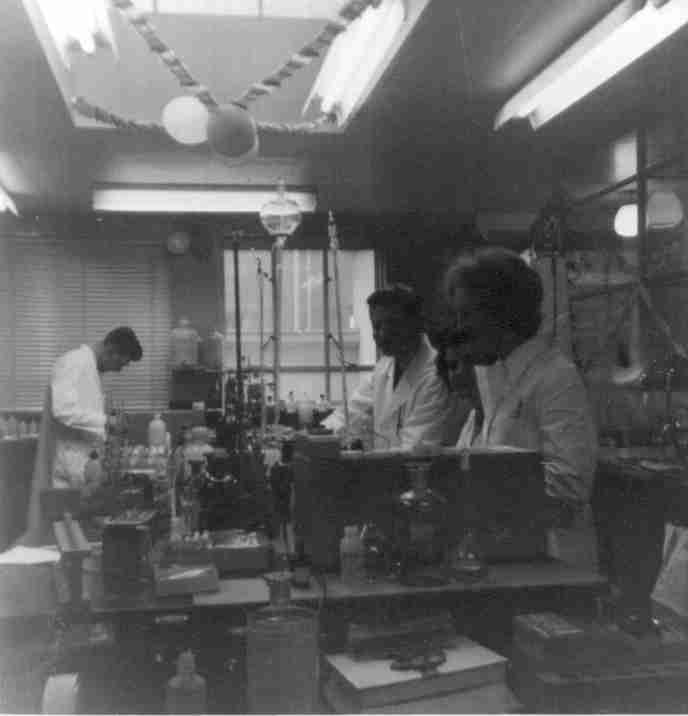 Main lab in the 50s