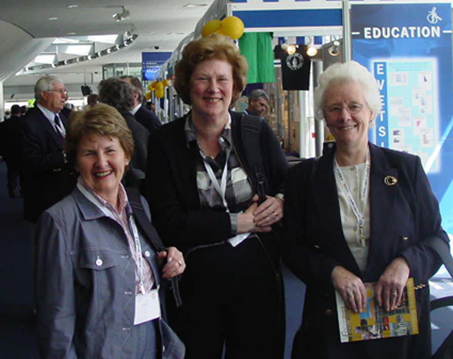 Anne M Kelly, Aileen Hunter and Frances Dryburgh